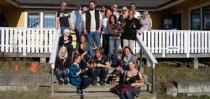 Ett medlemsgäng på Årsmöte i Stockholm