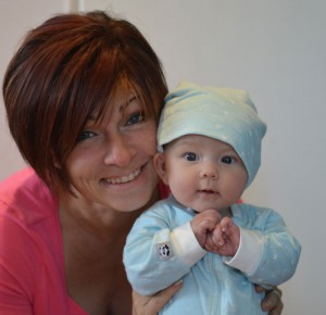 Maria och dottern Minou